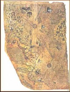 harta lumii piri reis