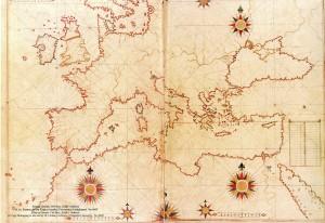 harta europei piri reis