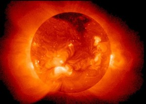 Scientific analysis regarding the end of the Sun describes it as consuming 4 million tons of matter a second, and says that the Sun will die when that fuel has all been consumed