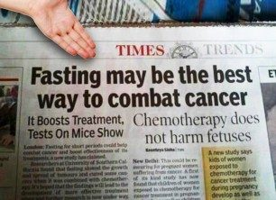 Scientists: Fasting Triggers Stem Cell Regeneration & Fights Cancer