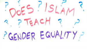 Islam affirms the absolute spiritual equality of men and women, and assigns both an equal rank before God.