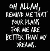 Allah's Plan for You and Me‏