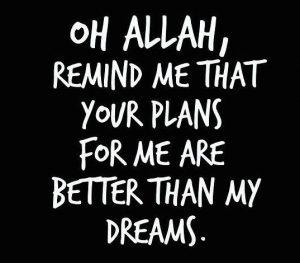 Allah's Plan