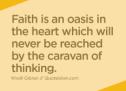 An Oasis of Faith (Special Folder)