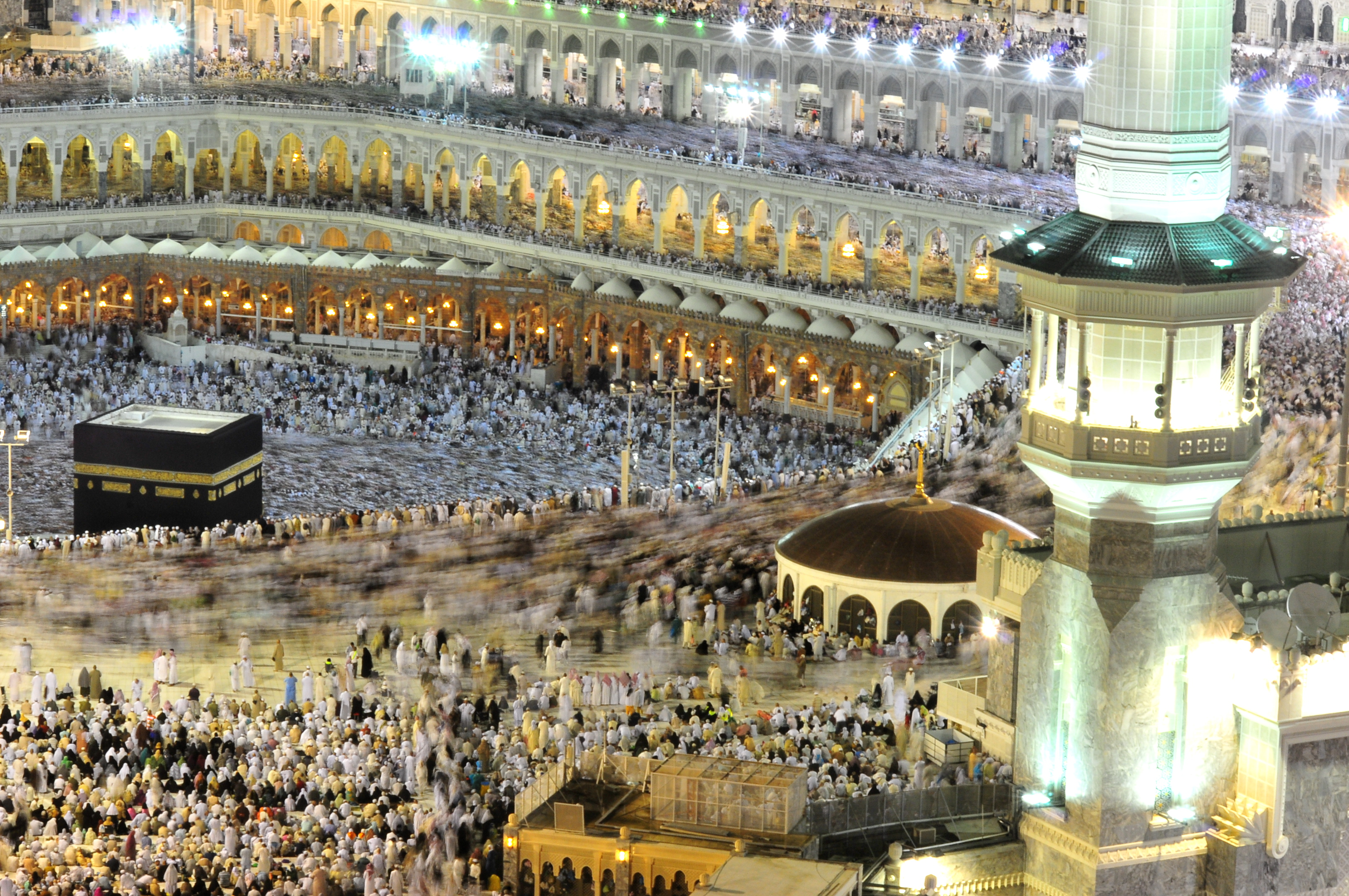 Not only did the Prophet rid the Ka`bah of all its impurities, but he also reinstated all the rites of Hajj which were established by Allah's Permission, in the time of Prophet Ibrahim.