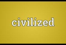 Civilized Lives